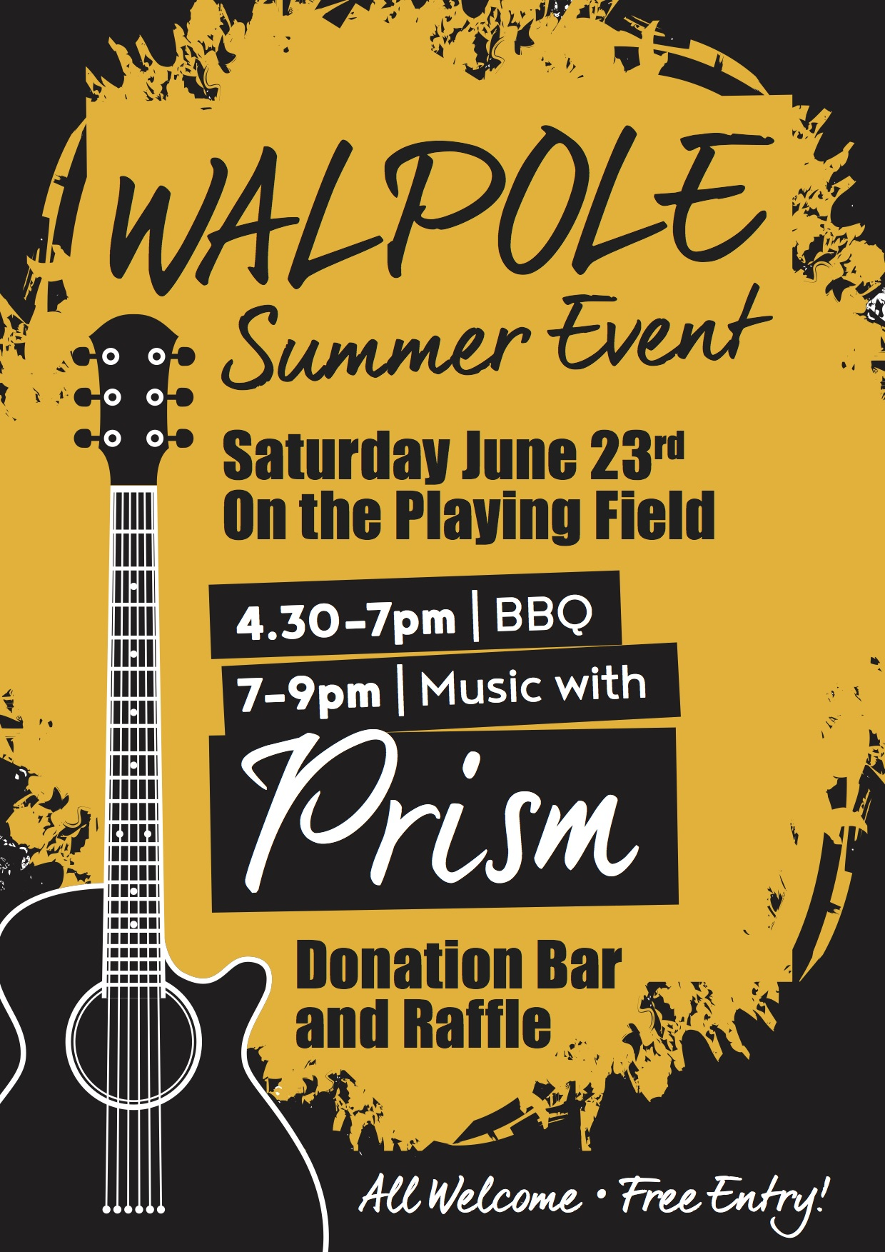Walpole Summer Event